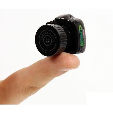 world's smallest digital video camera
