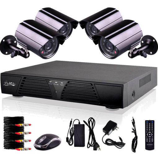 Home office security dvr system