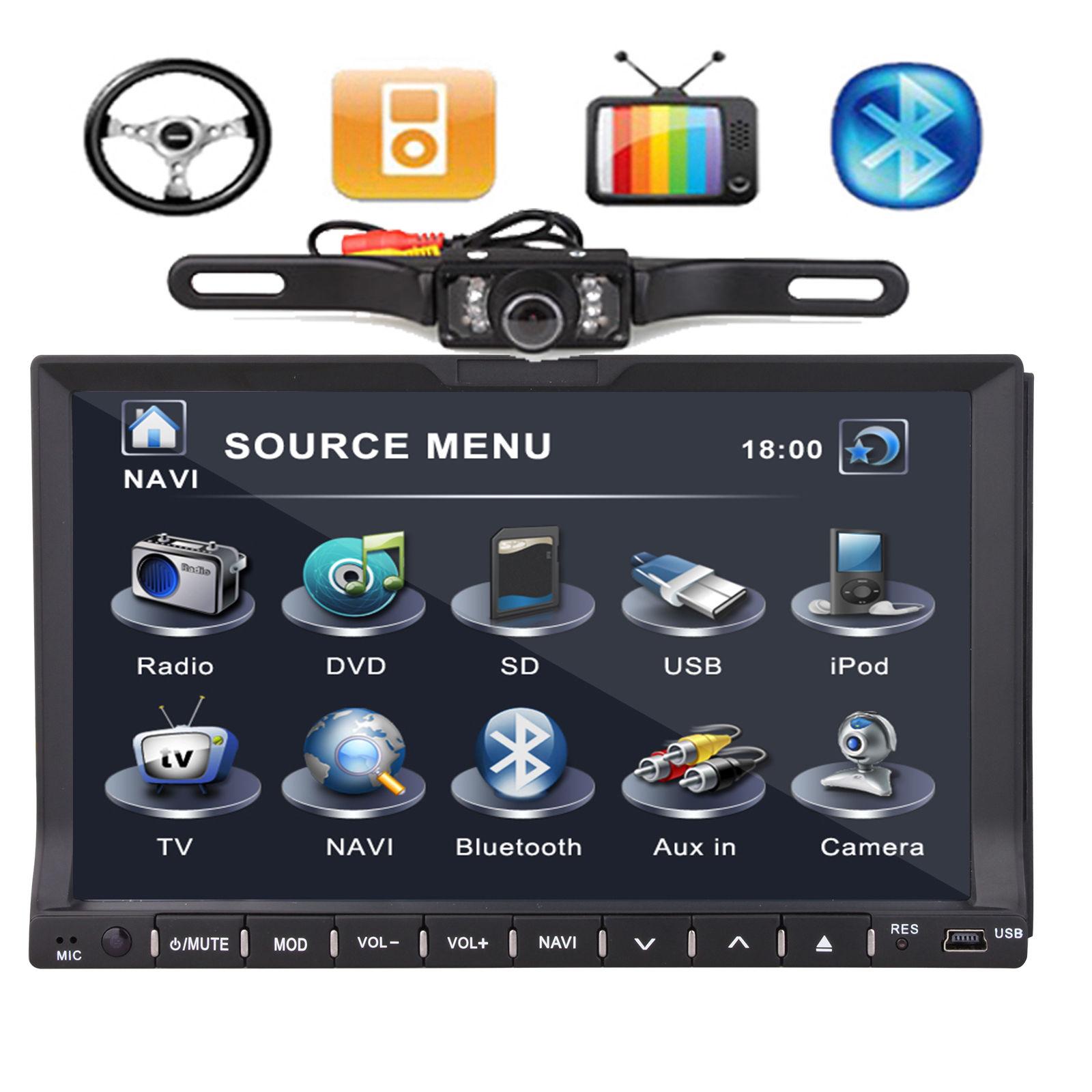 Double Din 7 U2033 Car Dvd Player In Dash Radio Gps Head Unit