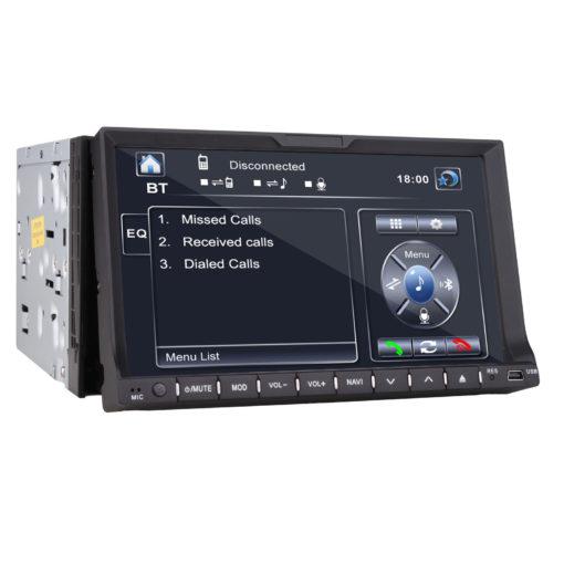 "Double Din 7"" Car DVD Player In dash Radio Ipod TV BT None GPS Head Unit+Camera"